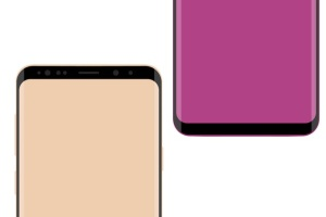 三星智能手机S9+样机模板 Samsung Galaxy S9 Plus vector mockup插图4