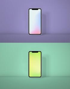 全新发布iPhone 11正面视图样机模板 iPhone 11 Mockup Generator插图2