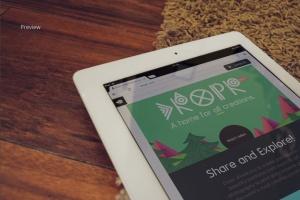 响应式网站设计iPad&Macbook显示效果样机模板 Responsive iPad Macbook Display Mock-Up插图9