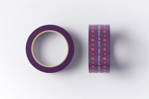 管道胶带印花印刷图案样机模板 Duct Tape Mock-up插图8
