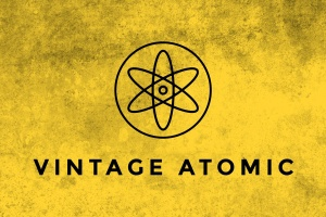 复古原子纹理PS笔刷 Vintage Atomic Texture Brushes插图1