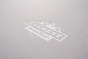Logo品牌商标凹印效果图样机模板 Digged Paper Mockup插图1