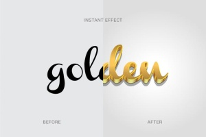3D金属质感字体特效AI图层样式 Metallic Styles for Illustrator插图2