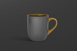 圆形光泽马克杯外观设计样机 Mug Mockup – Rounded插图12