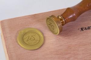 复古信笺蜡封印章设计样机 Wax Seal Stamp Mock Up插图2