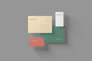 品牌VI体系设计效果图预览样机模板 Branding Stationery Mockups插图5