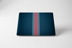 Macbook Pro笔记本A面图案设计样机 MacBook Pro Skin插图4