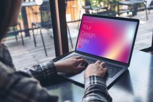 高雅干净利落笔记本电脑MacBook Pro样机 Elegant & Clean Macbook Pro Mockups插图6