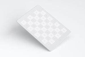 iPad平板电脑屏幕预览UI设计效果图样机01 Clay iPad 9.7 Mockup 01插图3