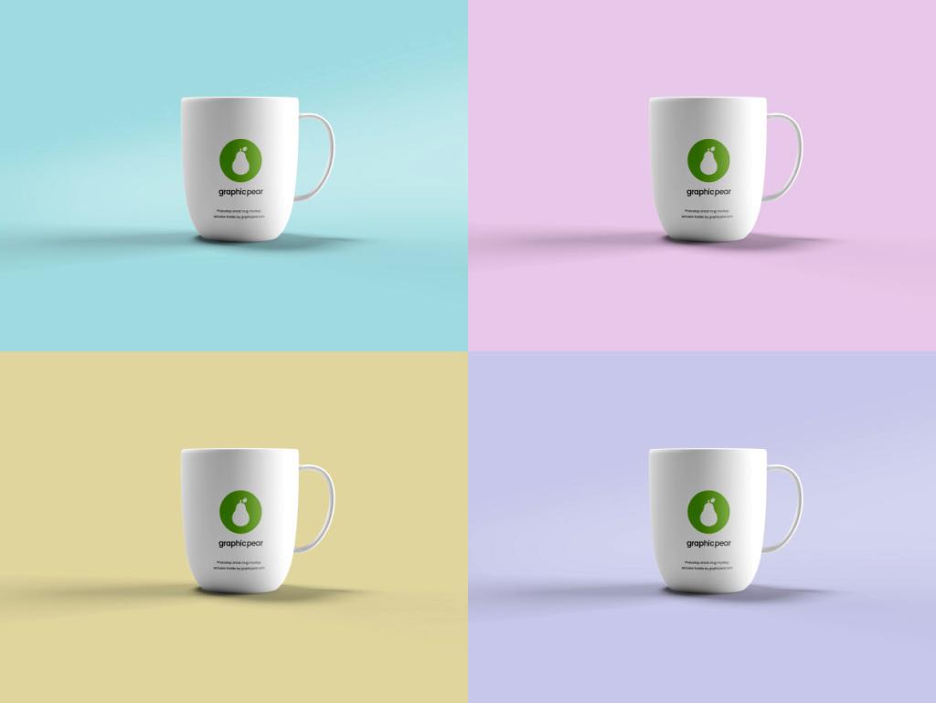 马克杯外观设计样机模板 Mug Mockup插图