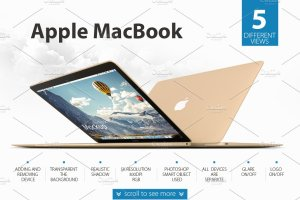 极力推荐:Apple系列产品展示样机合集 Apple devices mockups BUNDLE插图5