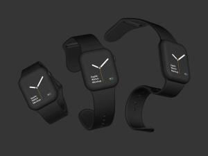 苹果第四代智能手表超级样机套装 Apple Watch 4 Mockups插图18