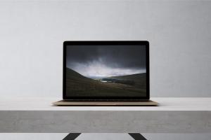 高品质的笔记本电脑设备展示样机 Laptop Mock-Up插图6
