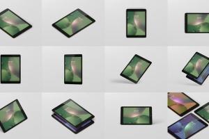 iPad平板电脑屏幕设备样机 Tablet Screen Mockup插图15