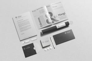 企业品牌VI办公用品样机设计模板V3 Branding-Stationery Mockups V3插图11