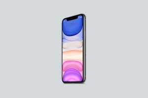 8K超高清分辨率iPhone 11 Pro手机样机模板 iPhone 11 Pro Mockup插图3
