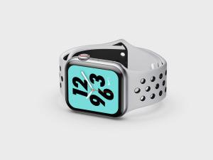 苹果第四代智能手表超级样机套装 Apple Watch 4 Mockups插图26
