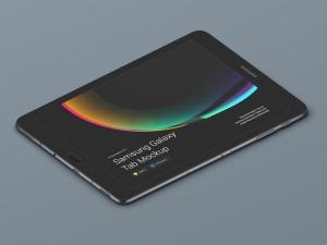 超级主流桌面&移动设备样机系列:Samsung Galaxy Tab  三星智能平板样机 [兼容PS,Sketch;共3.77GB]插图7