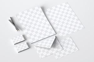 企业品牌VI设计办公用品套装样机01 Stationery Mockup 01插图3