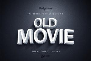 80年代复古风格文本特效PS字体样式v1 Retro Text Effects V2插图4