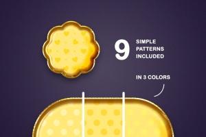 金箔气球文本效果字体特效样式PSD分层模板 Foil Balloon Text Effects插图8