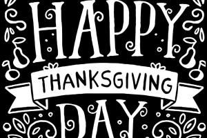 感恩节主题手绘设计矢量图形素材 Hand drawn thanksgiving illustration插图1