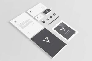 逼真品牌VI设计演示企业办公用品样机2 Branding / Identity Mock-up 2插图10