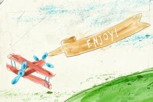 94种水彩艺术图案AI笔刷 Watercolor Vector Art Brushes插图5