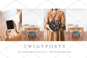 婚礼场景照片样机合集 Ultimate Wedding Stock Photo Bundle插图5