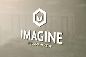 品牌Logo设计展示实景样机套装Vol.2 Logo Mockup Set V2插图1
