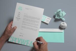 企业品牌VI设计办公文具样机模板v2 Corporate Branding / Identity Mock-up插图4