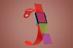 Apple智能手表APP设计展示设备样机V.3 Apple Watch Mockup V.3插图13