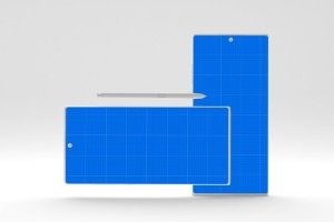 简约风格三星Note 10智能手机样机模板 Clean Note 10 Mockup插图13