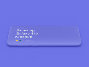 三星智能手机S10超级样机套装 Samsung Galaxy S10 Mockups插图16