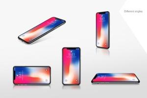 iPhoneX苹果智能手机UI界面设计样机 iPhone X Mockup插图5