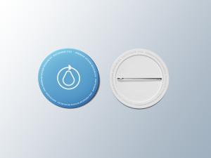 别针纽扣徽章设计样机 Pin Button Badge Mockup插图2