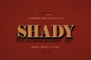 80年代复古风格文本特效PS字体样式v1 Retro Text Effects V2插图8