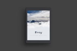 iPad平板电脑屏幕界面设计演示预览效果样机02 Clay iPad 9.7 Mockup 03插图2