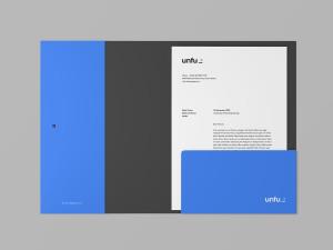 企业品牌标识文件夹设计样机模板 Branding Folder Mockup插图1