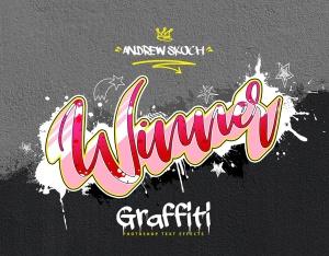 街头涂鸦文字效果PSD分层模板v3 Graffiti Text Effects Vol.3插图11