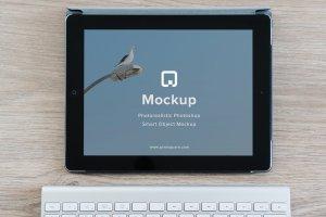 12款苹果笔记本&平板样机模板 Mockup Pack – 12 PSDs插图13