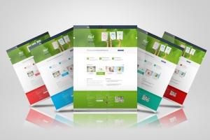 网站/网页设计效果图样机模板 Web Pages Presentation Mock Up插图5