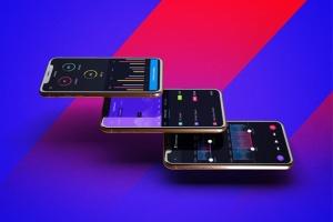 iPhone Xs手机应用UI设计展示样机模板 iPhone XS V.1插图4