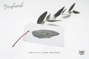 100个艺术印章画笔PS&Procreate笔刷 Brushwork: Artistic Procreate & Photoshop brushes插图(11)
