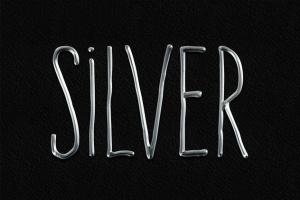 3D金属黄金字体特效PS字体样式 Metal Layer Styles – Photoshop Gold Text Effect插图6