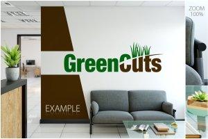 办公室墙纸设计样机模板合集 OFFICE Interior Wall Mockup Bundle插图8