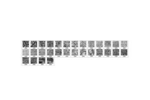 30款油漆手工纸张纹理肌理PS笔刷v2 30 Paint Texture Photoshop Brushes Vol. 2插图2