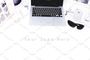 写实办公场景桌面图像 TwoTones Styled Desktop Stock Bundle插图5