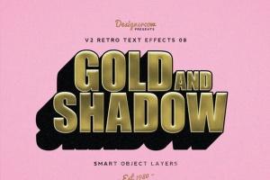 80年代复古风格文本特效PS字体样式v1 Retro Text Effects V2插图2