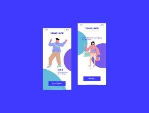 一流设计素材网下午茶:社交媒体生活概念矢量插画素材下载[Ai]插图5